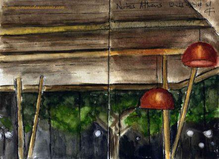 Notos cafe- Marialena Sarris