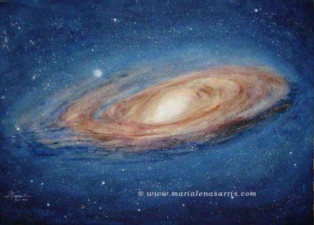 Andromeda Galaxy- Size 100x70cm-© Marialena Sarris 2016