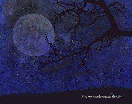 Super Moon Size 30x40cm-© Marialena Sarris