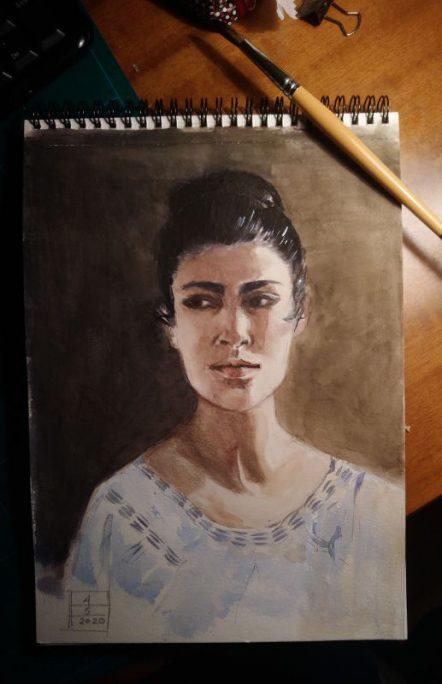 Irene's sketch- Marialena Sarris