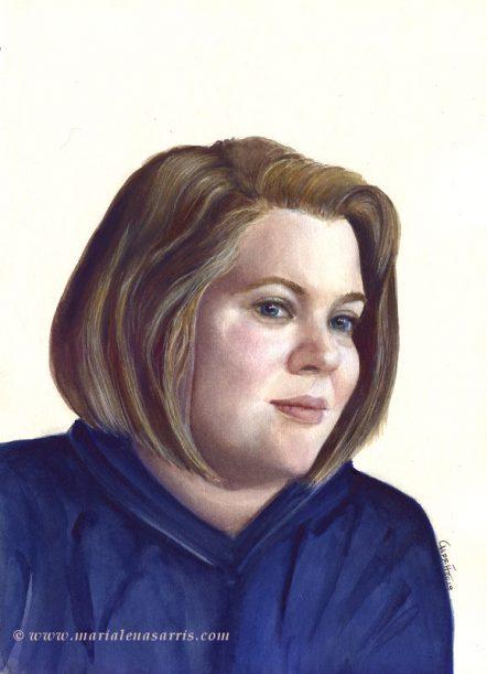 Jasmine Portrait- CommissionedMarialena Sarris