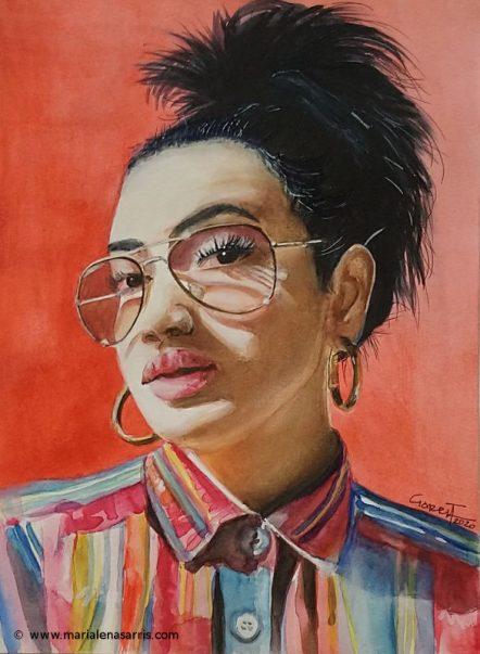 Stephanie's Portrait -© Marialena Sarris